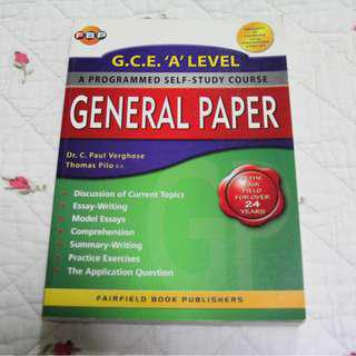 H1 General Paper Guidebook (Free Delivery)