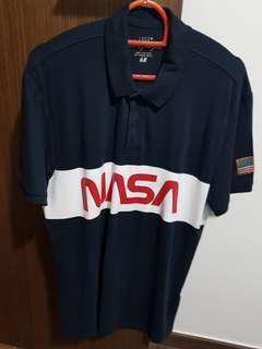 NASA collared tee shirt H&M