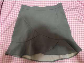 🚚 灰色魚尾裙