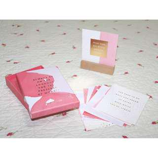 Kikki.K Quote Cards (11pcs) *Free delivery*