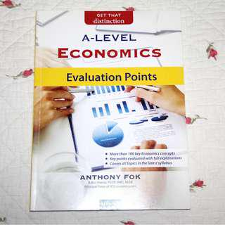 H2 Econs Evaluation Points by Anthony Fok *Free delivery*