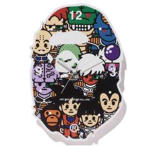 日本BAPE x DRAGON BALL Z 龍珠 Z