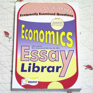 H2 Econs Essay Library *Free delivery*