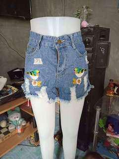 PREPACKED DENIM SHORTS