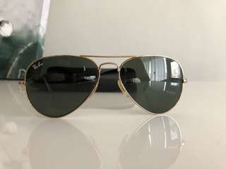 Authentic serialized(pic3) Ray Ban Aviators