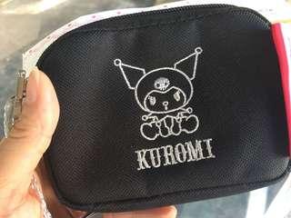 Melody kuromi 布散銀包 卡片套 手袋