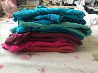 Lot of womens xsmall tshirts
