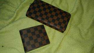 Lv couple wallet