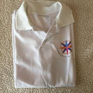 Breezy DriFit White Collared Shirt