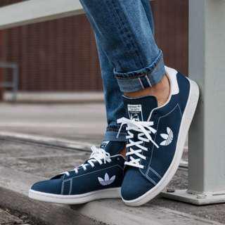 (PO) Adidas Stan Smith Indigo Trefoil