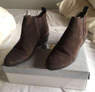 Leather Chelsea Boots NEGO