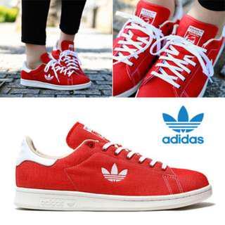 (PO) Adidas Stan Smith Red Trefoil