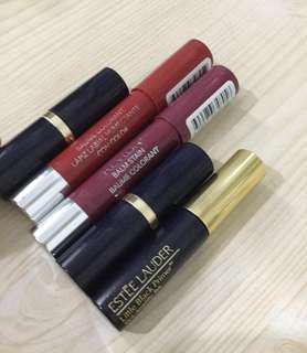 Lipstick bundle: Estee Lauder and Revlon