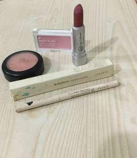 Blush bundle: The Face Shop, It's Skin, and Ever Bilena
