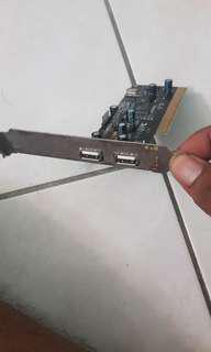 PCI-e Ethernet & PCI-e USB Port Expansion