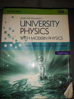 University Physics with Modern Physics (12th Ed)