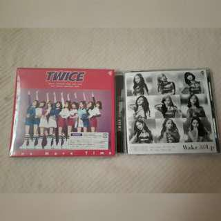 TWICE JAPAN ALBUMS OMT/WMU