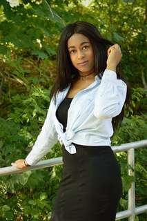 Forever 21 Black Body Con dress