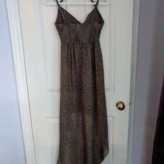 Guess high low dress - S