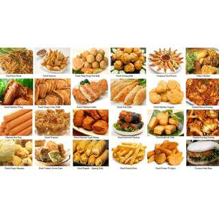 CURRY PUFF ,   24 hrs Catering food and Supply frozen puff , finger food, nasi ayam , nasi padang , nasi lemak to stall, canteen, coffee shop, hostel , hotel , company meal .