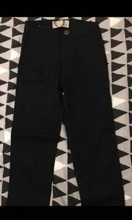 Boohoo black skinny jeans size 4