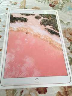 全新未開盒有單iPad Pro 10.5- inch Wi-Fi+Cellular(4G) 256GB Rose Gold 粉紅色 $6300(原價$7088)