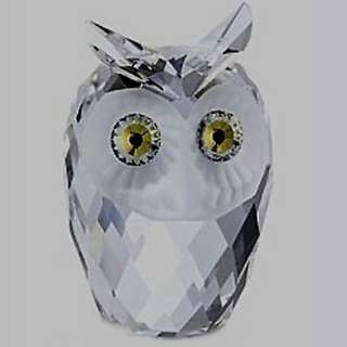Swarovski Crystal Large Owl #7636NR060 with box