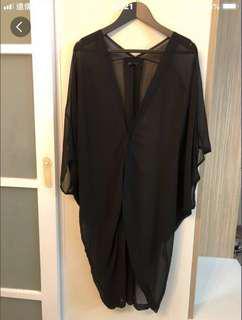 🚚 韓 蝙蝠袖顯瘦罩衫