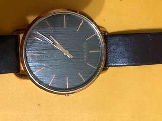CK木質手錶(背膜還在)9成5新