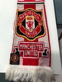 Manchester United Scarf - 100% Authentic