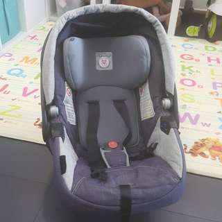 Peg Perego car seat for 0-9 mths nego