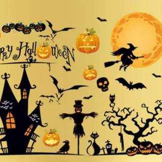 Halloween Wall Stickers Decal
