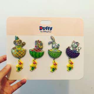 迪士尼襟章 Disney Pin Duffy and friends *原價出售