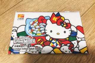 Hello Kitty Sanrio game master 會場限定商品 珍藏版八達通 成人
