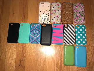iPhone 6/6s and 4 and iPad touch cases