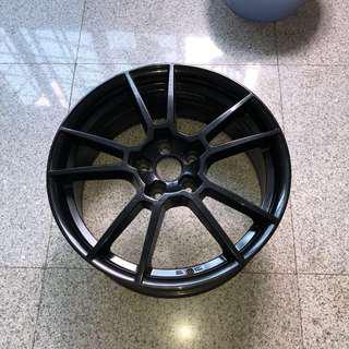 Porsche alike SSW rim 114.3pcd