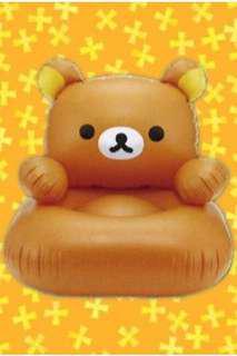 Rilakknma Face Inflatable Chair 鬆弛熊 吹氣 梳化