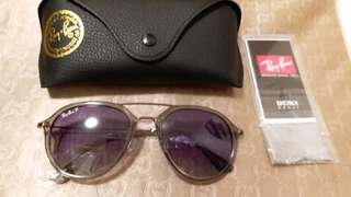 Ray Ban original RB.3584 CLEAR FRAME LILAC  COLOR LENS