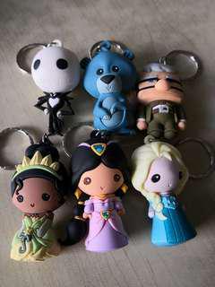 Disney figural Keychain