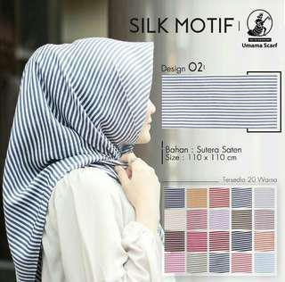 Kerudung Silk Motif