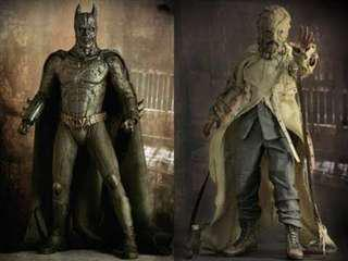 Hot Toys Scarecrow and Devil Batman (Justice League Dark Knight Bane Scare Crow)