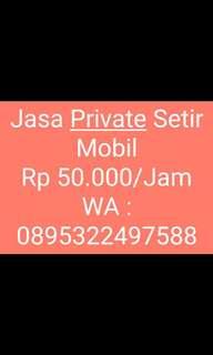Jasa Private Setir Mobil