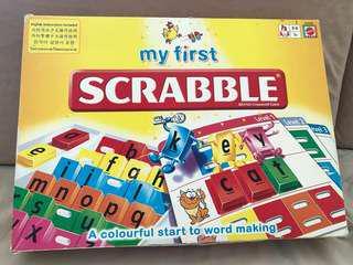 Mattel My First Scrabble