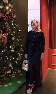 Dress Hijab Dark Blue