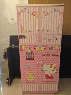 Lemari Hello Kitty Good Cond