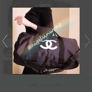 Chanel VIP gift travel bag gym bag shopping bag 旅行袋