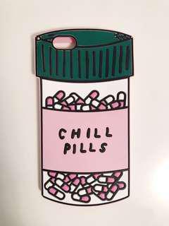 Bando Chill Pills silicone iPhone 6S Plus phone case