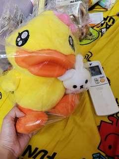 全新B duck公仔