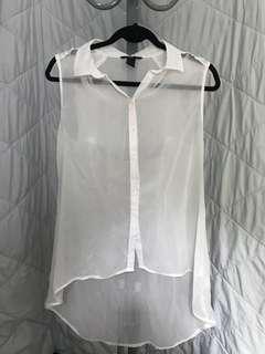 H&M top sleeveless