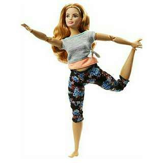 Barbie Made To Move Doll - Curvy